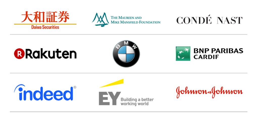 企業のロゴリスト